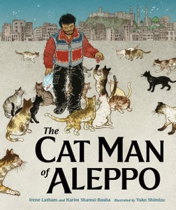 Image of NEW: PRE-ORDER The Cat Man of Aleppo