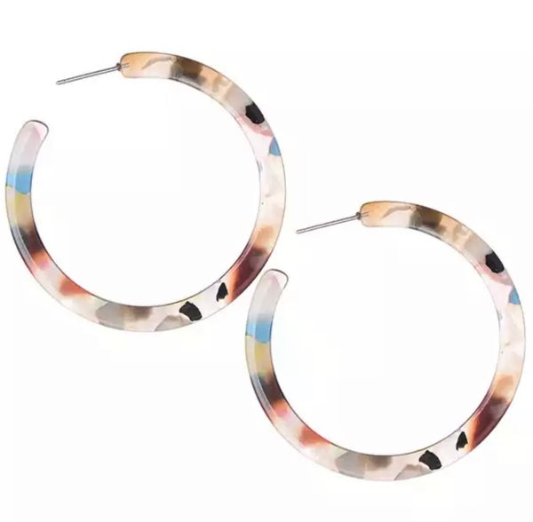 Image of Acrylic Hoops