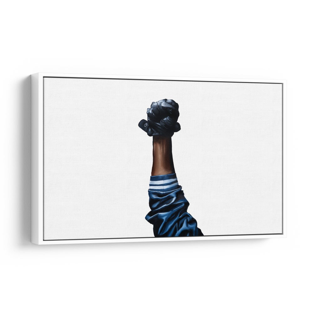 Image of All Power to the People (Framed Canvas Print)