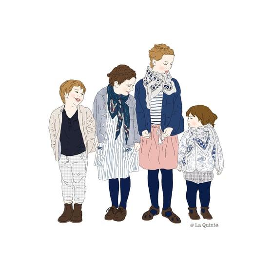 Image of portrait d'enfant (simple)