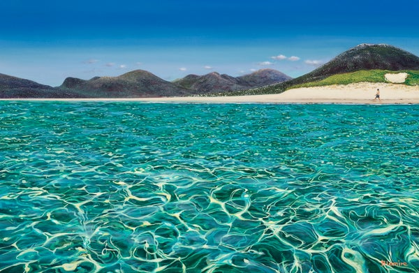 Image of Luskentyre stroll giclée print ALL sizes