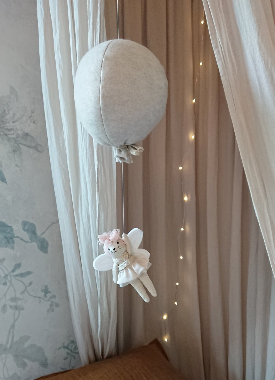 Image of Wonderforest balloon  mobile - made to order
