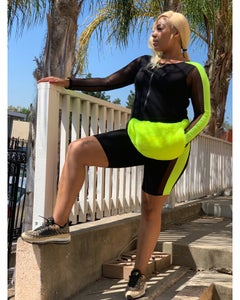 Image of Neon/black Jumpsuit