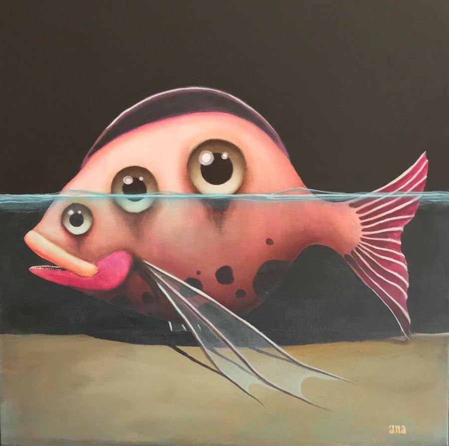 "Image of  ""Como Pez sin Agua"" by Ana Marietta"