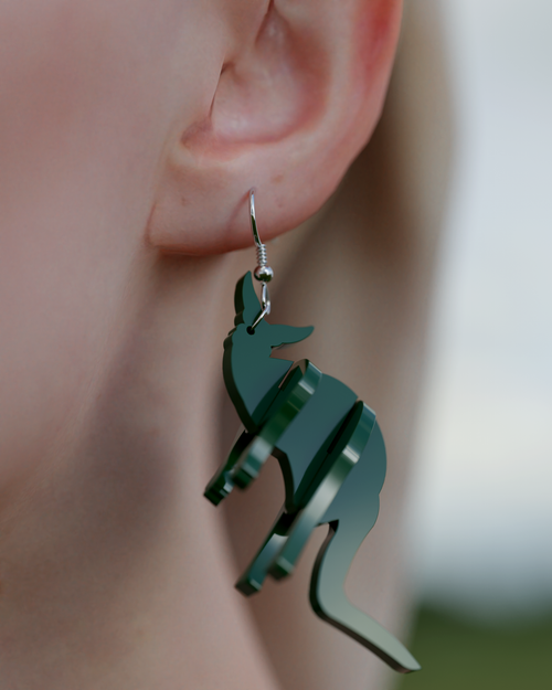 Image of Faunalea postcards-earrings