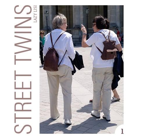 Image of STREET TWINS mini book n°1