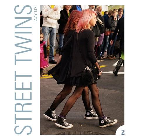 Image of STREET TWINS mini book n°2