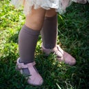 Image of Taupe Knee-Highs