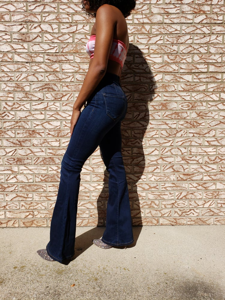 Image of Funky flair jeans