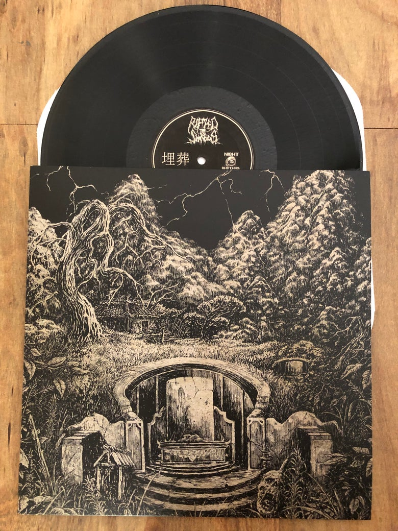 Image of Ripped to Shreds - 埋葬 LP