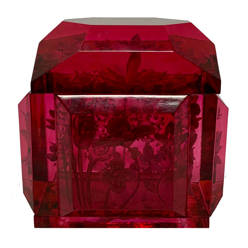 Image of Borscht Mini Victorian Lucite Box