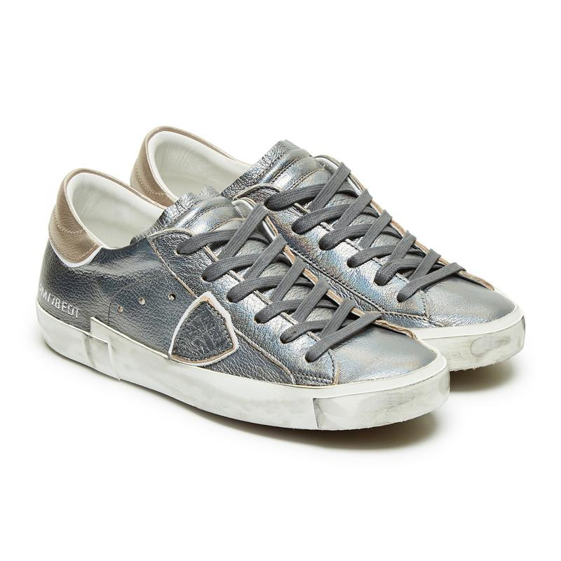 "Image of Philippe Model Paris ""Iridescent"" Sneakers"
