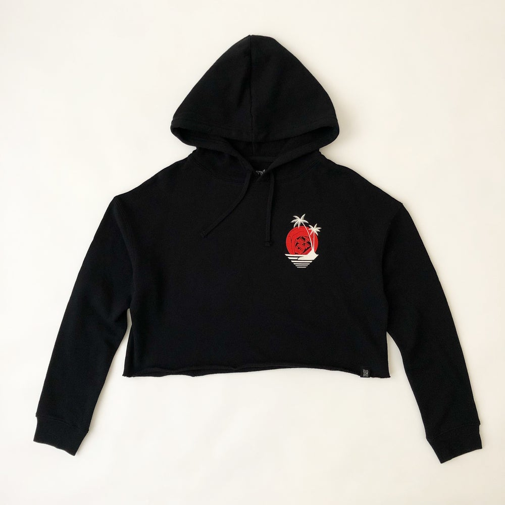 Image of DIP 2.0 CROPPED HOODED SWEATSHIRT