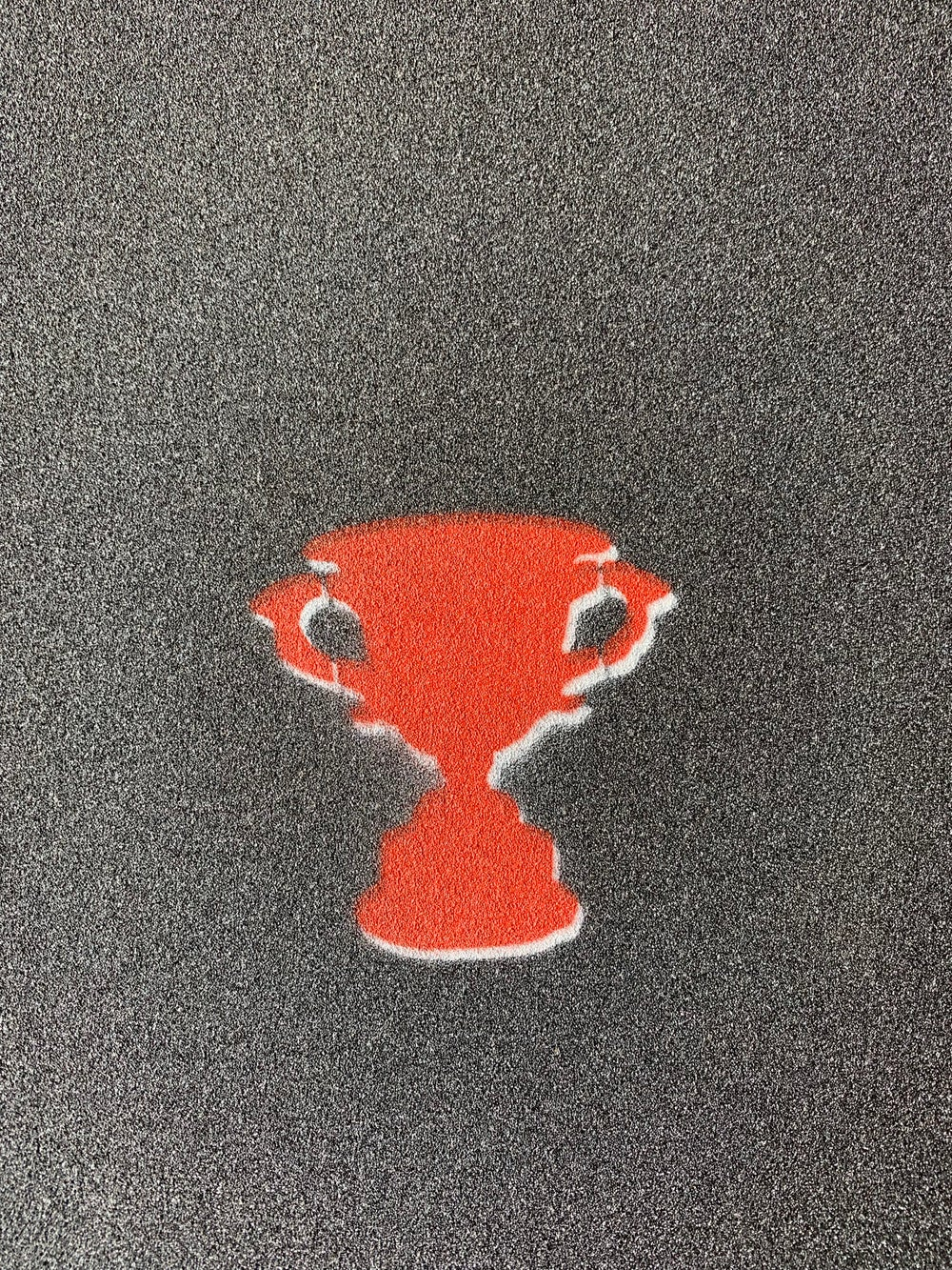 """Image of Mini Trophy """"Red"""" Griptape"""