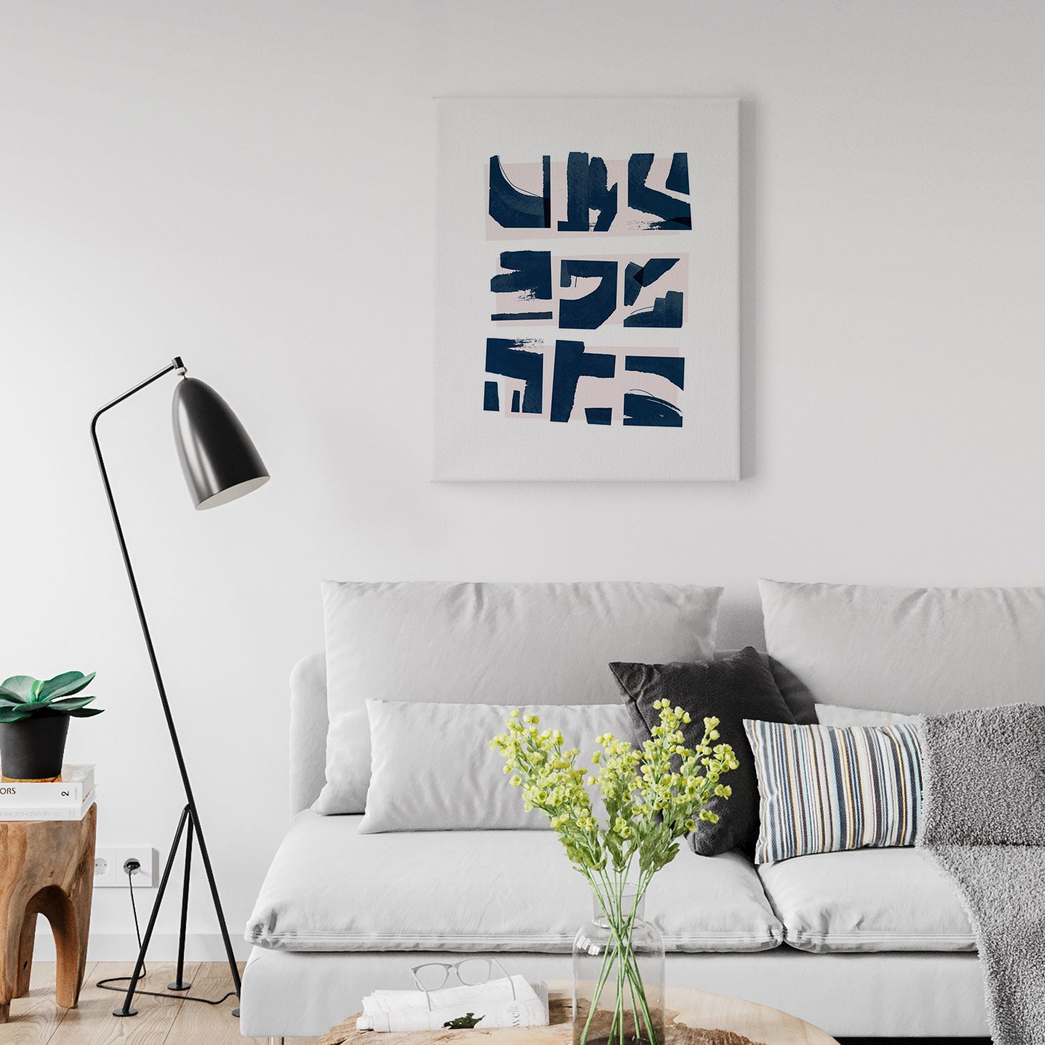 Image of Fractured Canvas Print