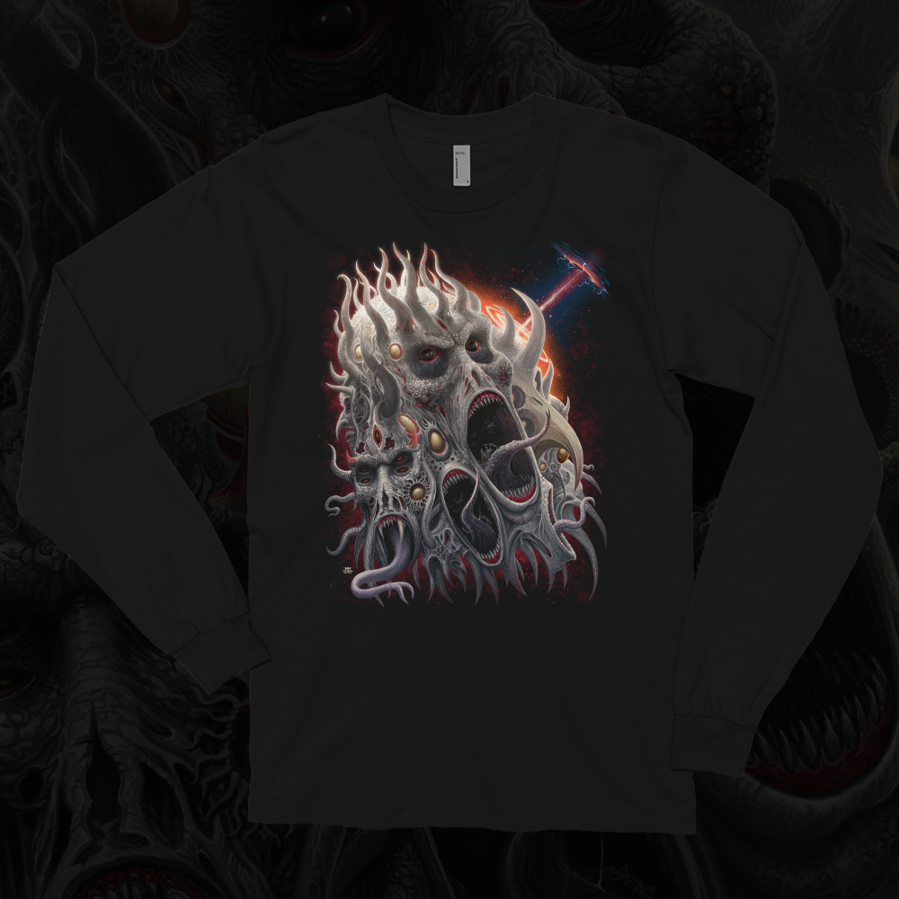 Image of Malicious Entities Longsleeve T-shirt by Mark Cooper Art