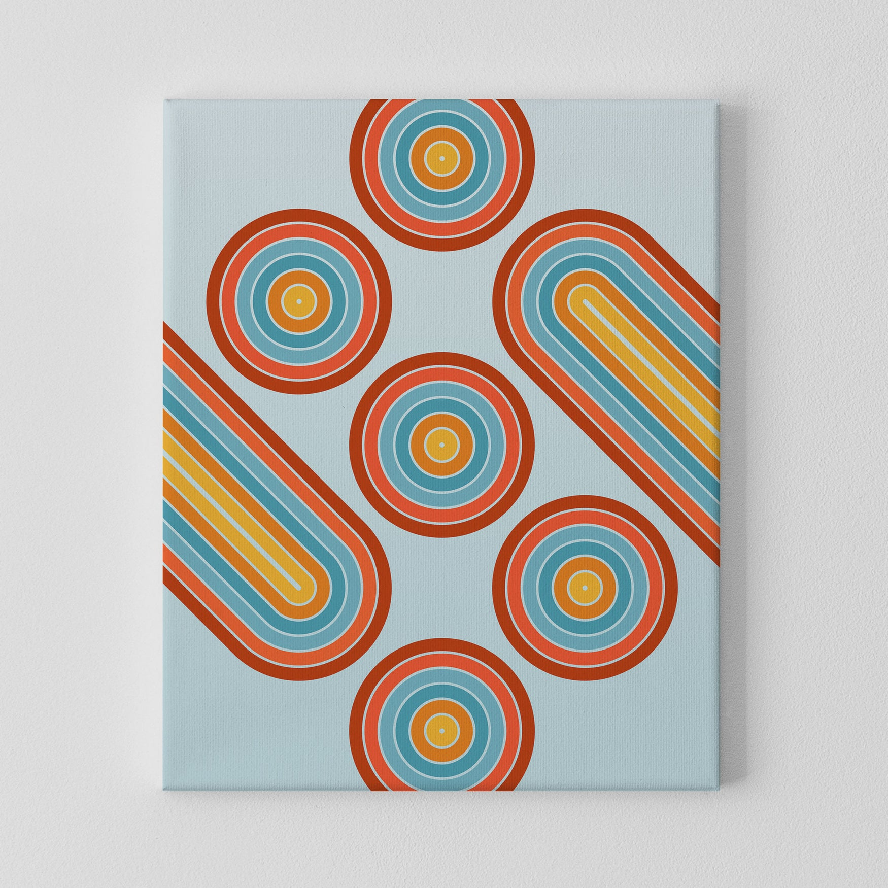 Image of Retro Motion Canvas Print