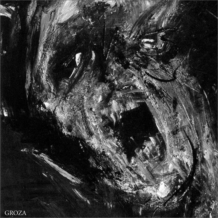 Image of MGŁA - 'Groza' 12''LP