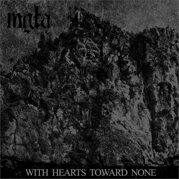 Image of MGŁA - 'With hearts toward none' 12''LP