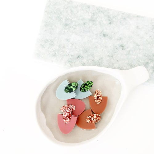 Image of Sparkle Gem Studs