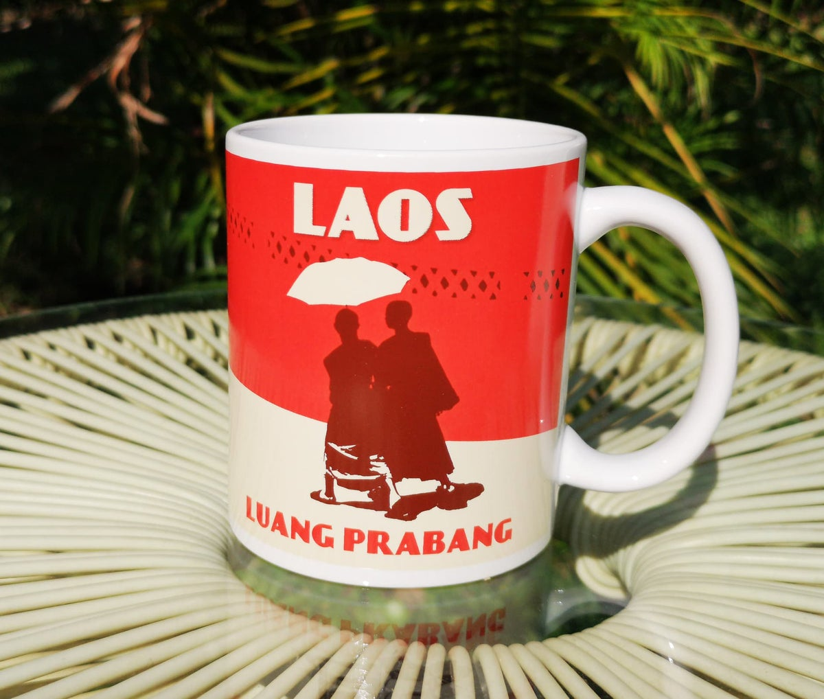 Image of Mug Laos Luang Prabang Limited Edition 11oz - Coffee mug