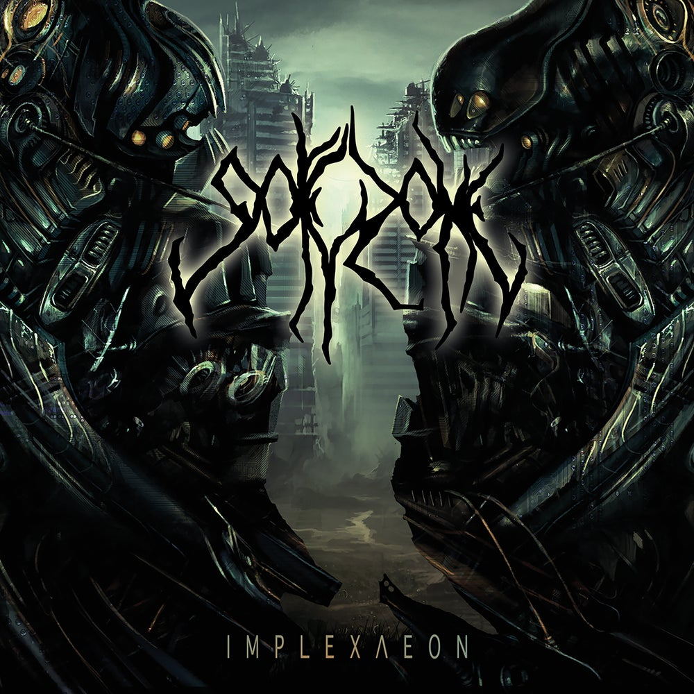 Image of GOREZONE - Implexaeon CD