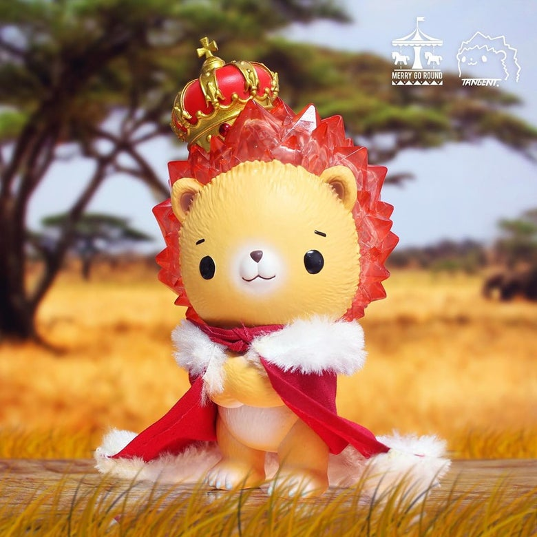 Image of Tangent x Merry go round - Crystal series : Lion Sunny