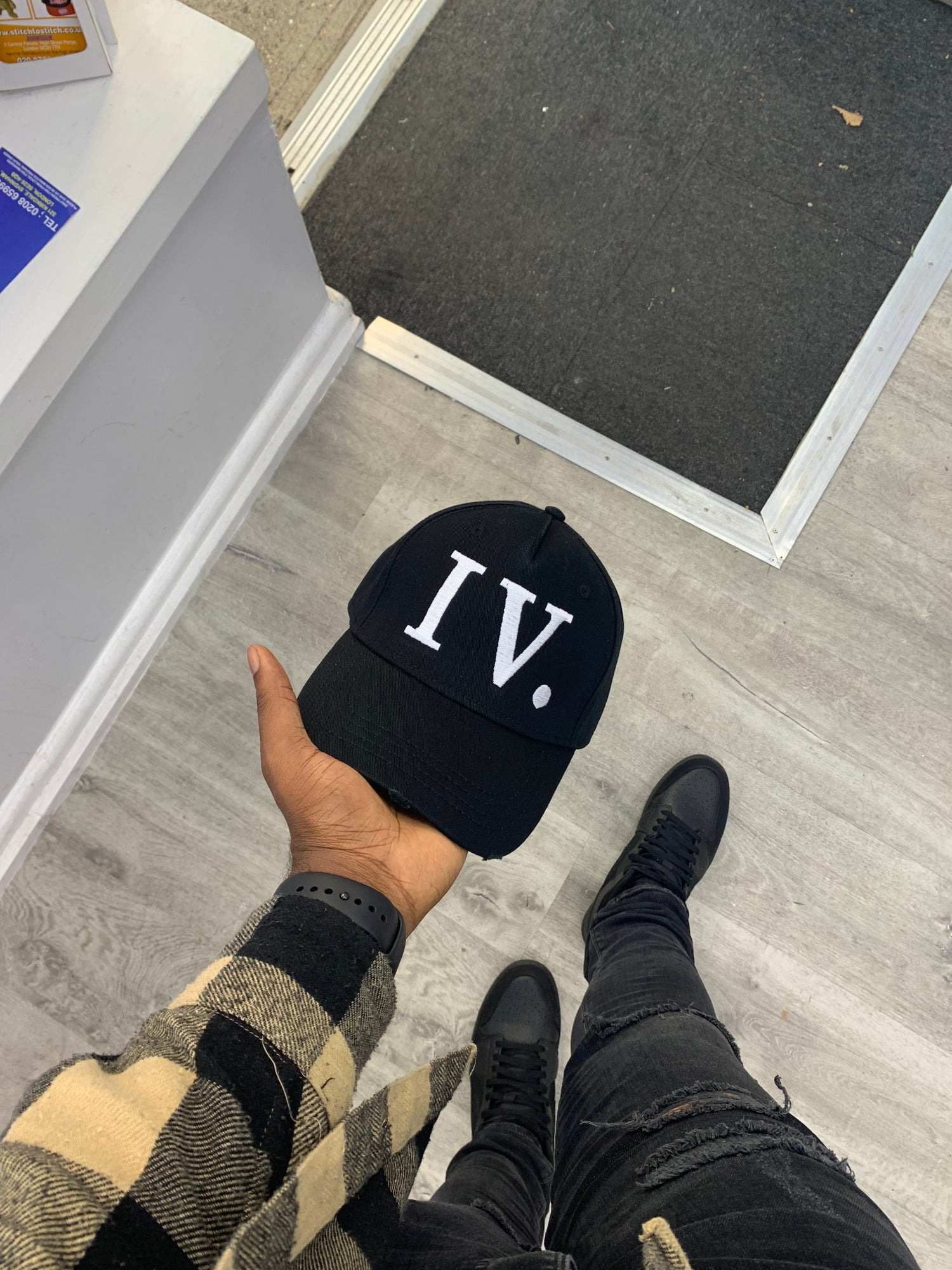 Image of Black and White IV Seasons, I God Trucker Cap