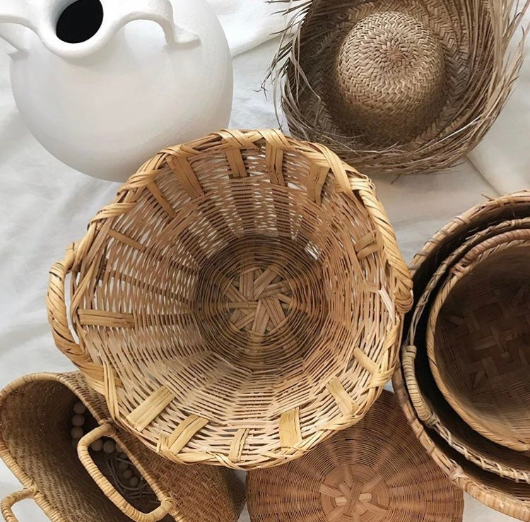 Image of Large Basket with Handles