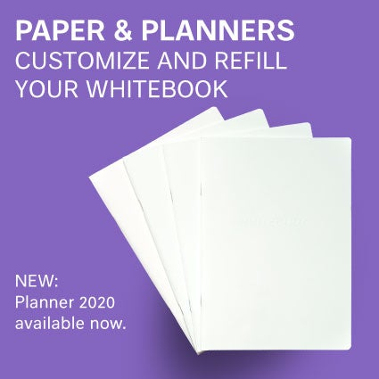 Image of Whitebook Cahiers / Journals