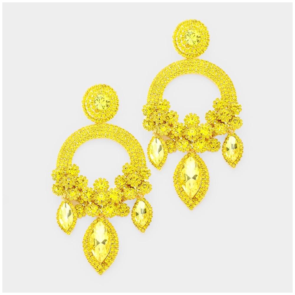 Image of Jumbo Chandelier Earrings