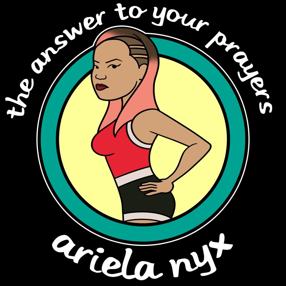 Image of Ariela Nyx Daria Tee