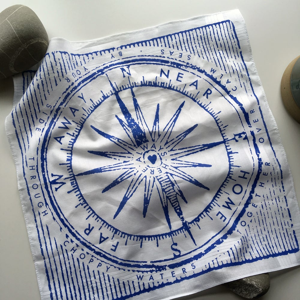 Image of Compass Hankie