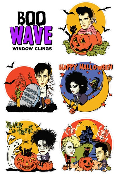 Image of BOOwave Window Clings (5 Pack)