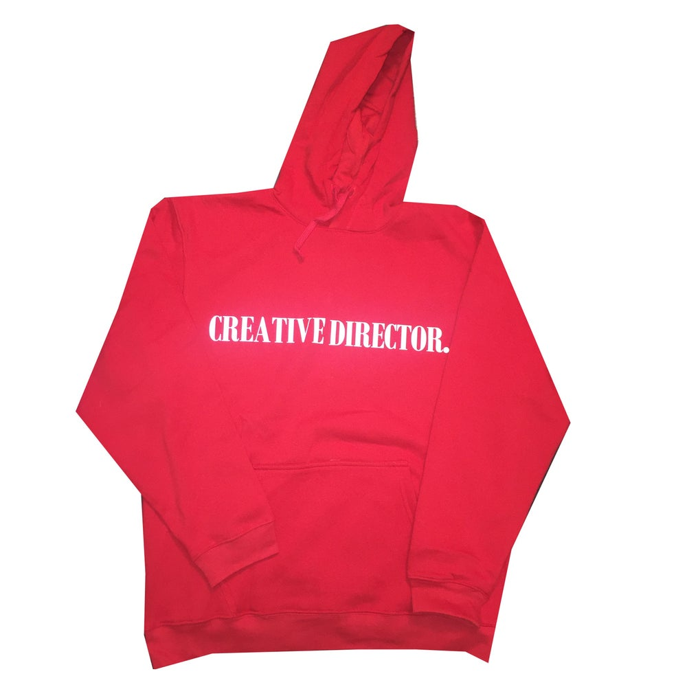 "Image of Foam Creative Director Hoodie ""Red"""
