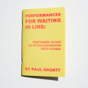 Image of Performances for Waiting in Line