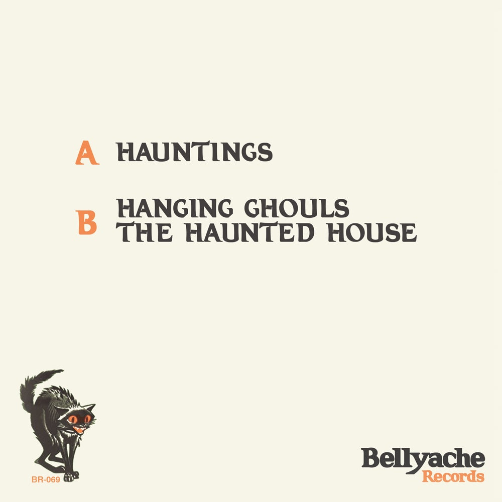 "Image of Slasher Dave's Hauntings - 7"" EP w/Halloween Cutout & Download"