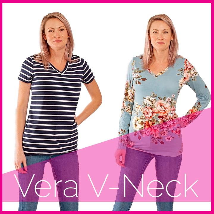Image of Vera V Neck