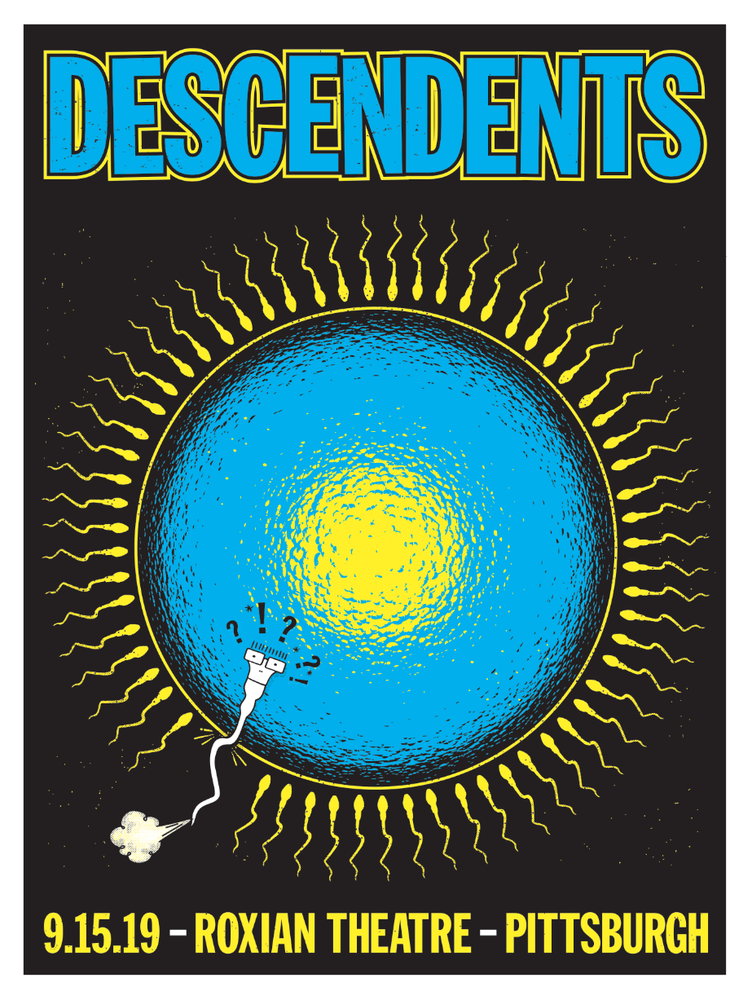 Image of Descendents - 9.15.19 poster