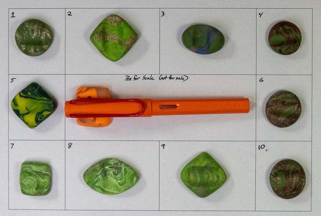 Image of (NEW) Pen Rests Group 2