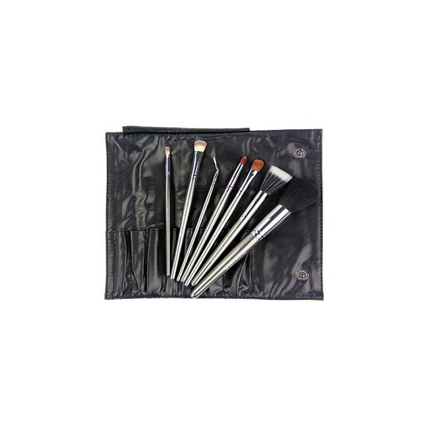 Image of 7PC GUNMETAL BRUSH SET
