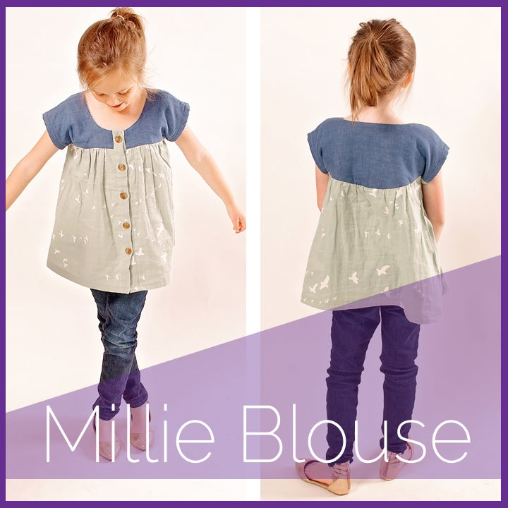 Millie Blouse | ShwinDesigns
