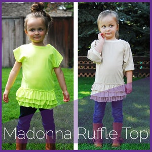 Image of The Madonna Ruffle Top