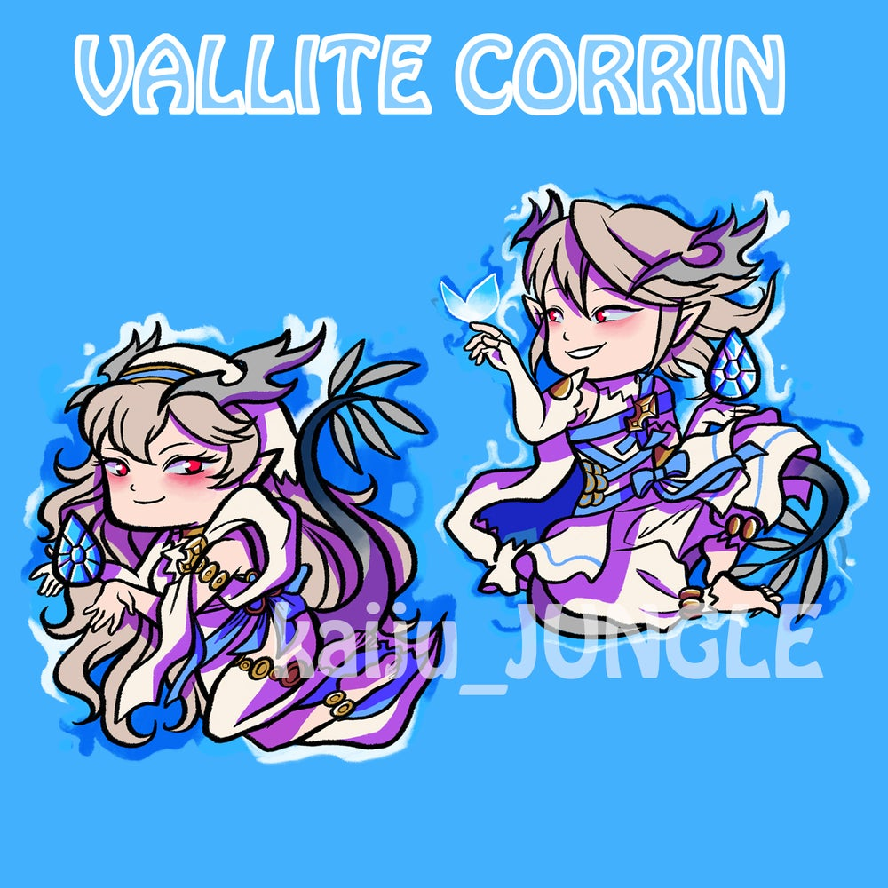 Image of fire emblem vallite corrins