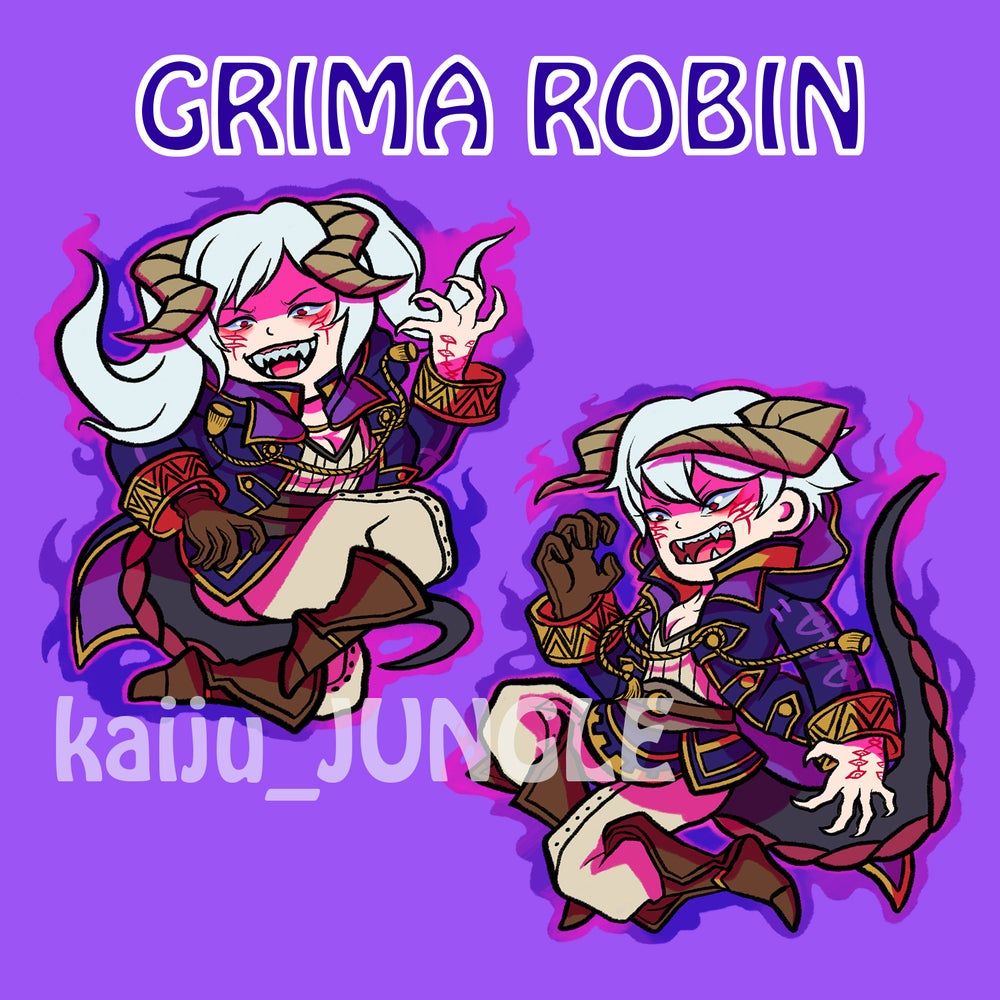 Image of fire emblem grima robins