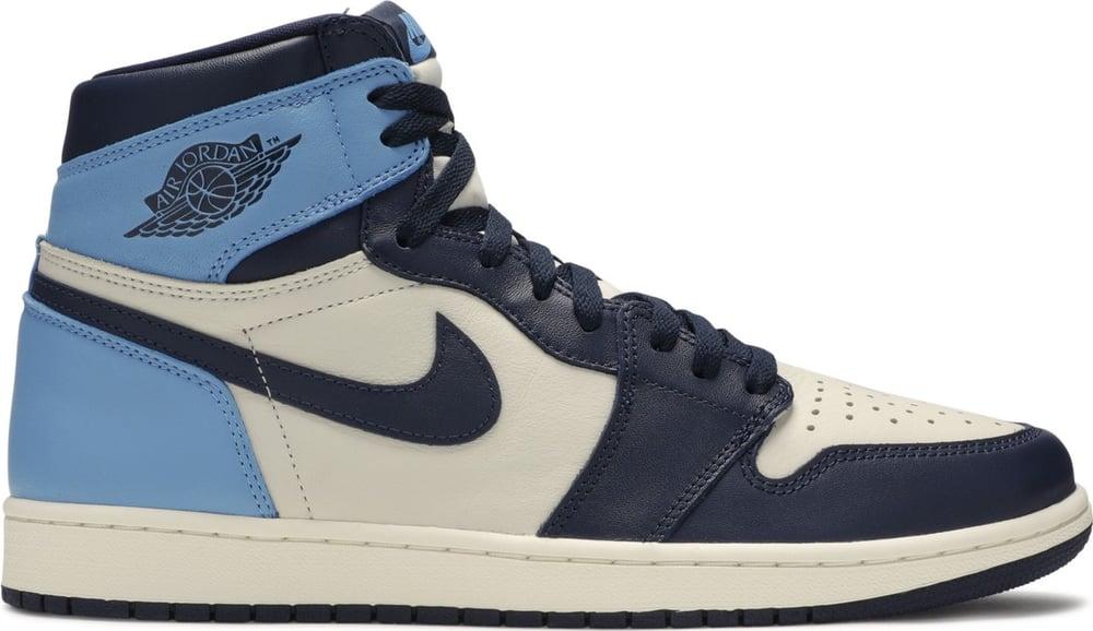 """Image of Nike Retro Air Jordan 1 """"Obsidian"""" Mens"""