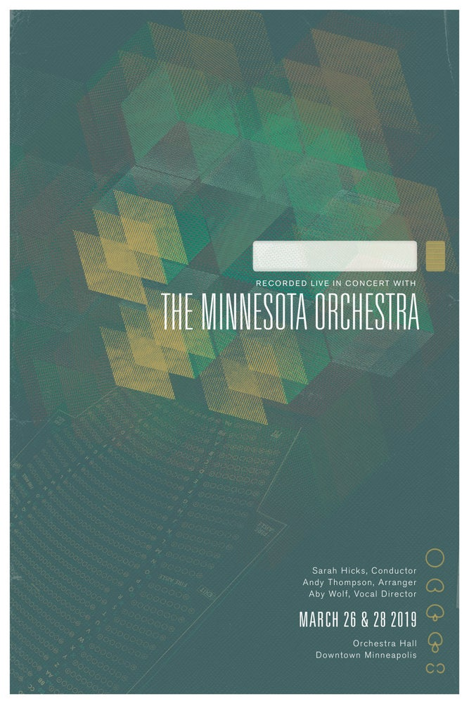 Image of Dessa Live at Orchestra Hall signed poster