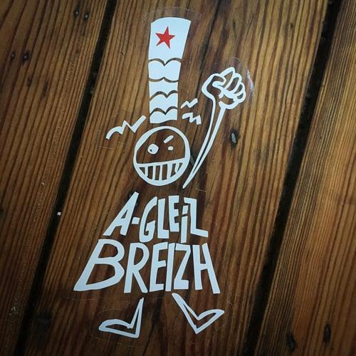 """Image of Autocollant """"A-gleiz Breizh"""""""