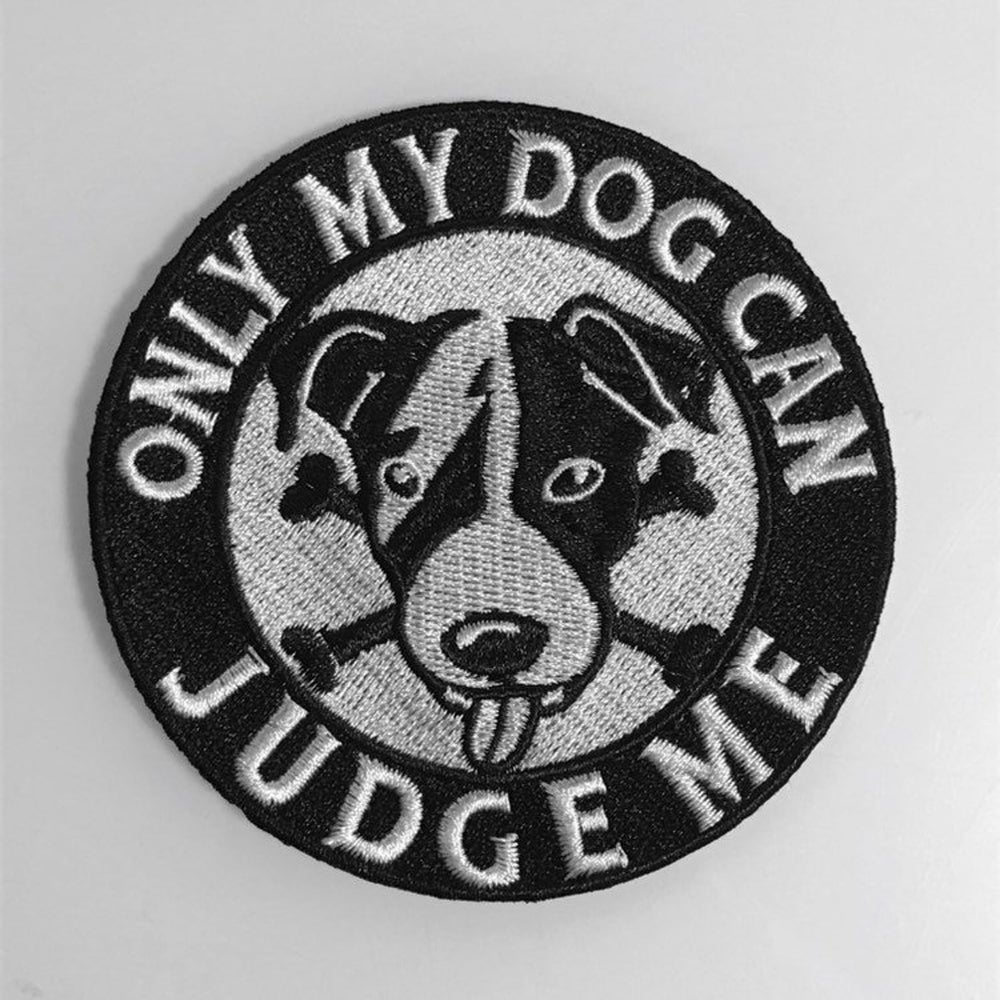 Image of Dog Lover embroidered patch