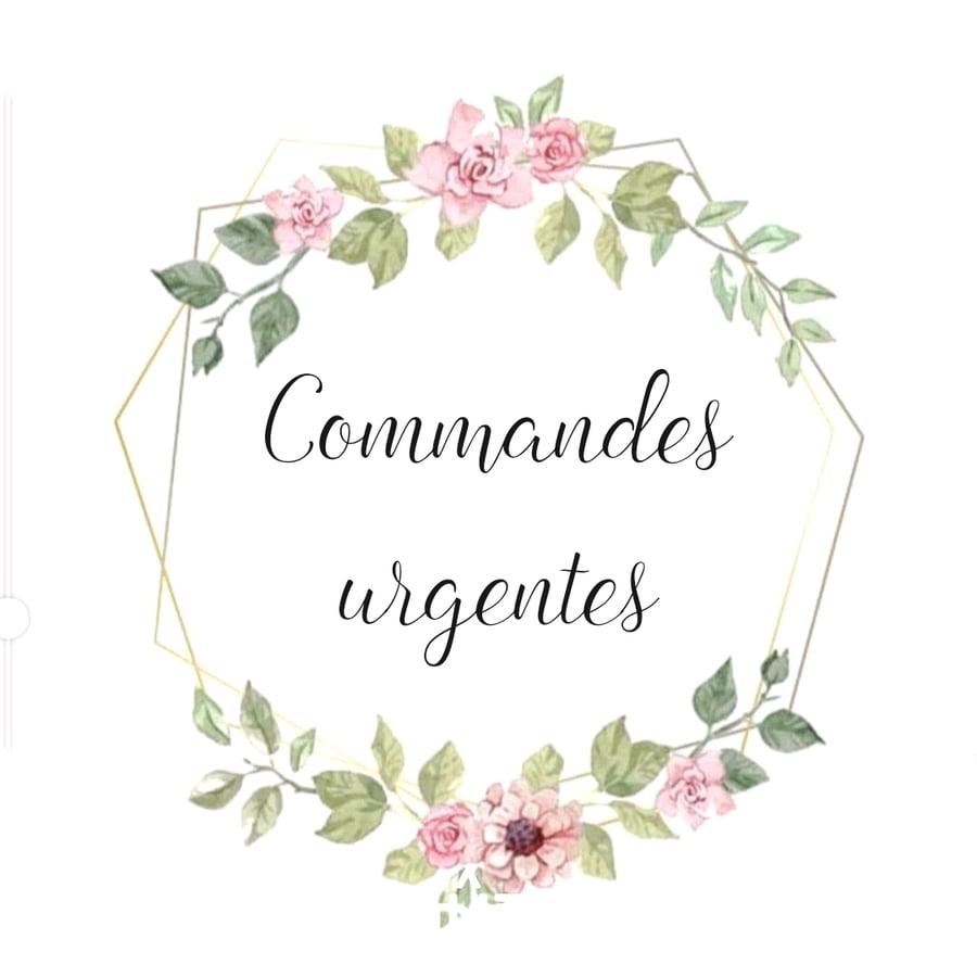 Image of Commandes urgentes